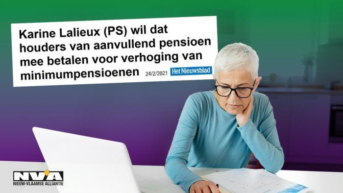 Infografiek: Lalieux aanvullend pensioen